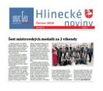 Hlinecké noviny - Šest mistrovských medailí za 2 víkendy